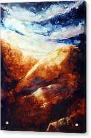 When Sorrow Is A Mountain Acrylic Print