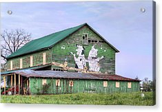 When The Farmer's Away Acrylic Print by JC Findley