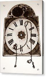 When Time Stopped Acrylic Print by Chiselev Alexandru