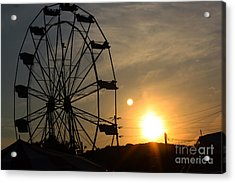 Acrylic Print featuring the photograph Where Has Summer Gone by Tony Cooper