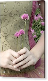 Where Have All The Flowers Gone Acrylic Print by Angelina Vick