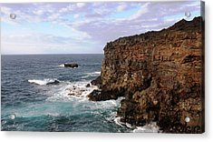 Where Land Meets Sea Acrylic Print by Luis and Paula Lopez