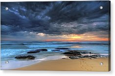 Where One Once Stood Acrylic Print by Mark Lucey