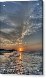 Where The Heavens Meet The Sea Acrylic Print