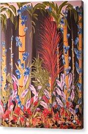 Whimsical  Bamboo Acrylic Print