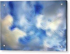 Whimsical Sky Acrylic Print by Lisa Stanley