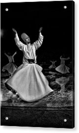 Whirling Dervish Acrylic Print by Okan YILMAZ