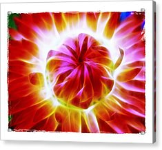 Acrylic Print featuring the photograph Whirling by Judi Bagwell