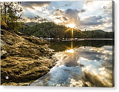 Acrylic Print featuring the photograph Whiskeytown Lake Sunrise by Randy Wood
