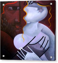 Whisper Acrylic Print by Nikolai Rusev
