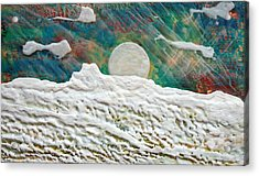 Whistler Moon Acrylic Print by Terry Thomas