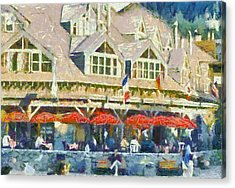 Whistler One Acrylic Print by Dale Stillman