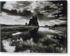 Whitby Abbey Acrylic Print