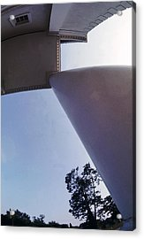 White Columns Acrylic Print by Jan W Faul