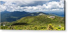 White Mountains New Hampshire Panorama Acrylic Print by Stephanie McDowell