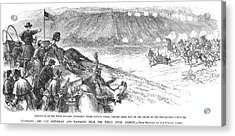 White River Attack, 1879 Acrylic Print by Granger