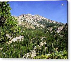 White Rock Mountain Acrylic Print by The Kepharts