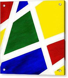 White Stripes 6 Acrylic Print by Hakon Soreide