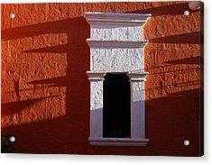 White Window Acrylic Print by RicardMN Photography
