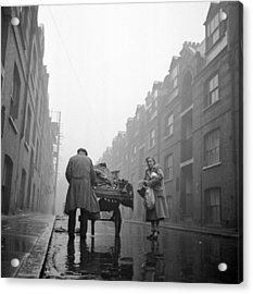 Whitechapel Street Acrylic Print by John Chillingworth