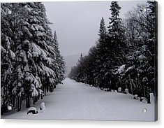 Whiteface Highway Acrylic Print