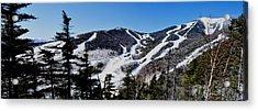 Whiteface Ski Trails Acrylic Print