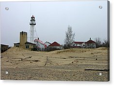Whitefish Point Light Station Acrylic Print