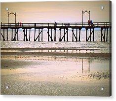 Whiterock Pier II Acrylic Print