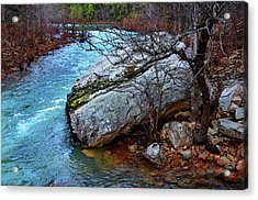 Acrylic Print featuring the photograph White's Creek by Paul Mashburn