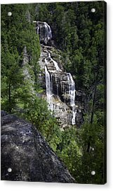Whitewater Falls Acrylic Print by Rob Travis