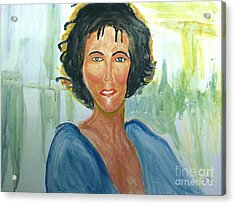 Whitney Huston Acrylic Print