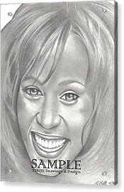 Whitney Acrylic Print by Rick Hill
