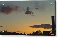 Whittier Evenings Soiree 5 28 12 B Acrylic Print by Feile Case
