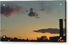 Whittier Evenings Soiree 5 28 12 C Acrylic Print by Feile Case