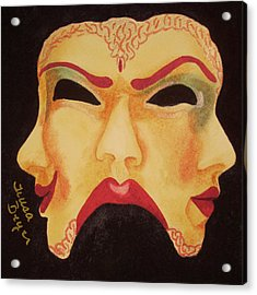 Who Am I Today Acrylic Print by Teresa Beyer