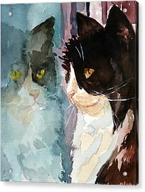 Who Are You Acrylic Print by P Maure Bausch