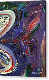 Who Sees ... Acrylic Print by Gwyn Newcombe