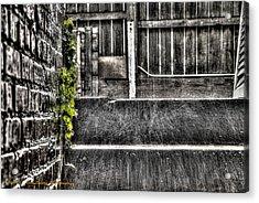 Who'll Stop The Rain Acrylic Print by Dan Crosby
