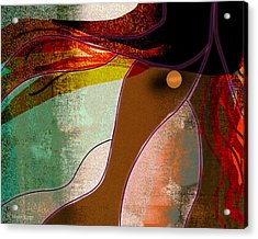 Wild Horse Acrylic Print by Melisa Meyers