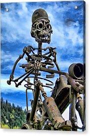 Wild Rider Acrylic Print