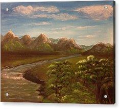 Wild River Acrylic Print