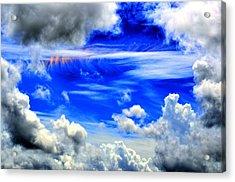 Wild Sky Acrylic Print by Bob Jackson