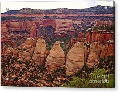 Colorado National Monument  Acrylic Print by Patricia Kertson