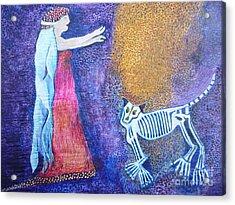 Wild Woman Acrylic Print by Catherine Meyers