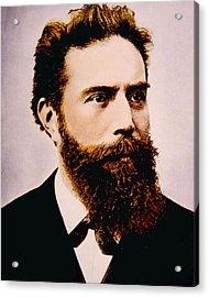 Wilhelm Conrad Rontgen 1845-1923 Acrylic Print by Everett