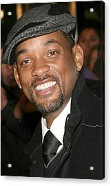 Will Smith At Arrivals For The Day The Acrylic Print by Everett