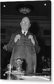 William Green 1873-1952, President Acrylic Print by Everett