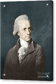 William Herschel, German Astronomer Acrylic Print by Science Source