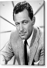 William Holden, 1960 Acrylic Print by Everett