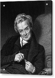 William Wilberforce, British Politician Acrylic Print by Middle Temple Library